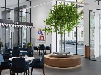 Ресторан в Tatlin Apartments